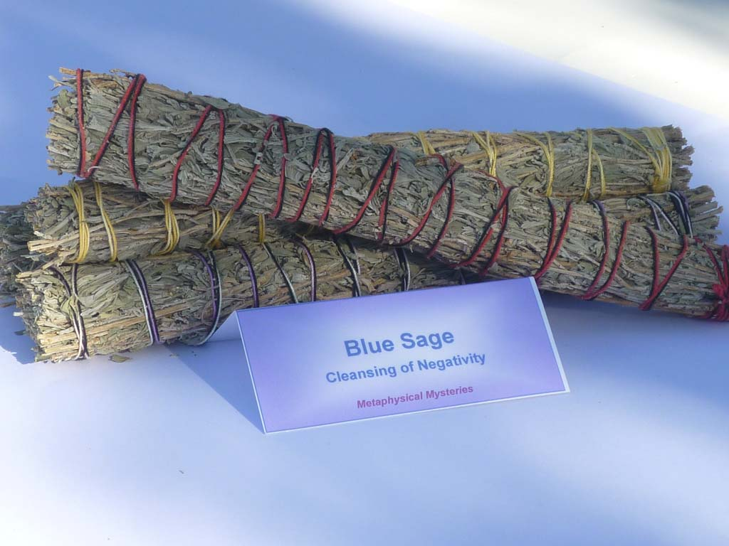 Blue Sage smudge sticks - large size